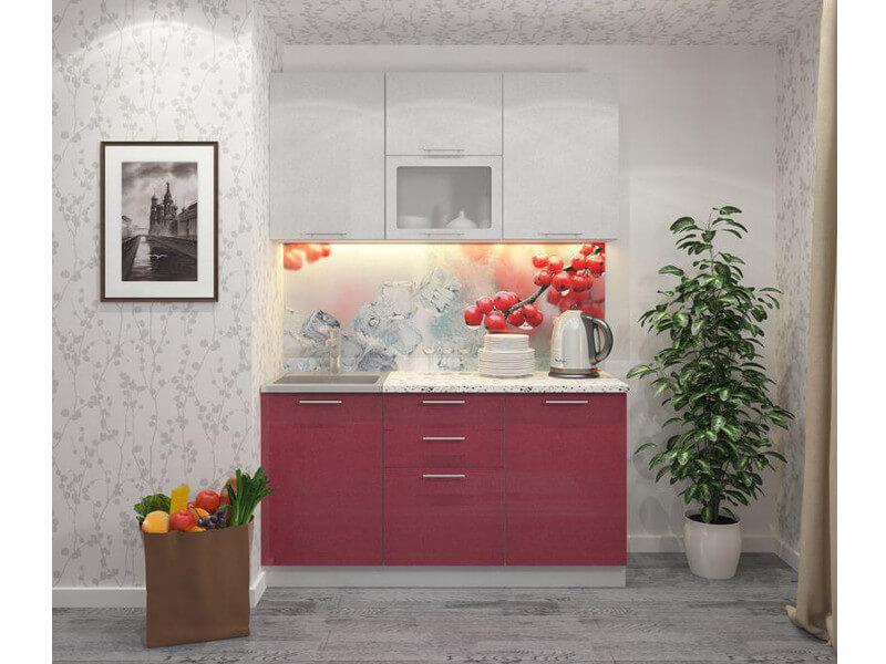 фото Кухня Клюква 1500