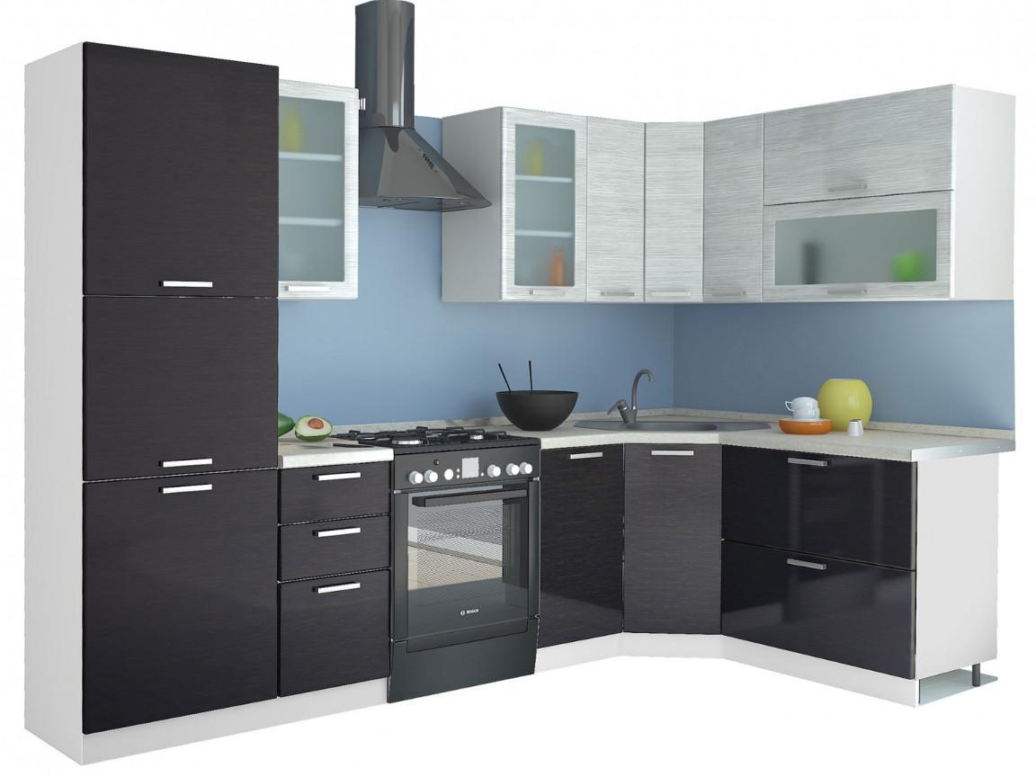 фото Угловая кухня Равенна Стайл 2250х1650