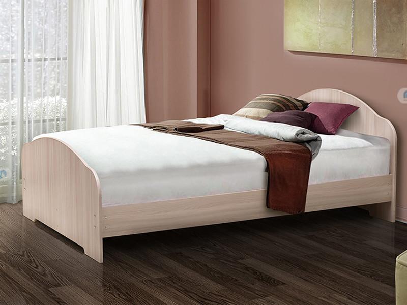 фото Кровать двойная на уголках No 1 Матрица
