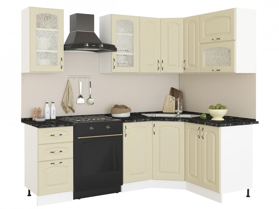 фото Угловая кухня Равенна Фаби 1650х1450
