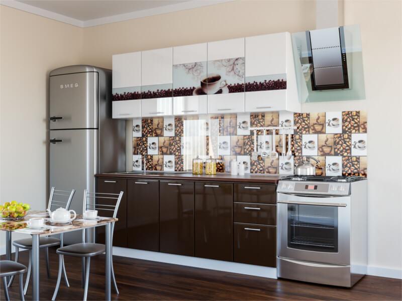 фото Кухня Кофе глянец