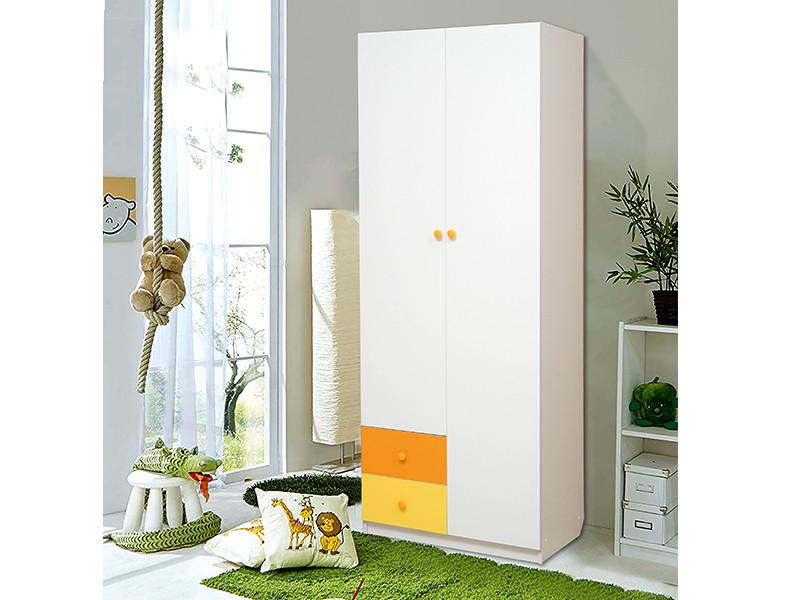 фото Шкаф 2-х дверный с ящиками Радуга