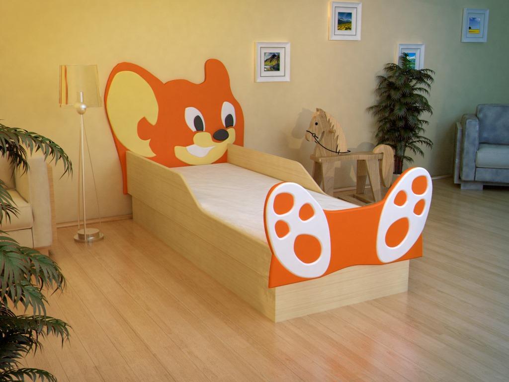 фото Кровать Мышонок МДФ