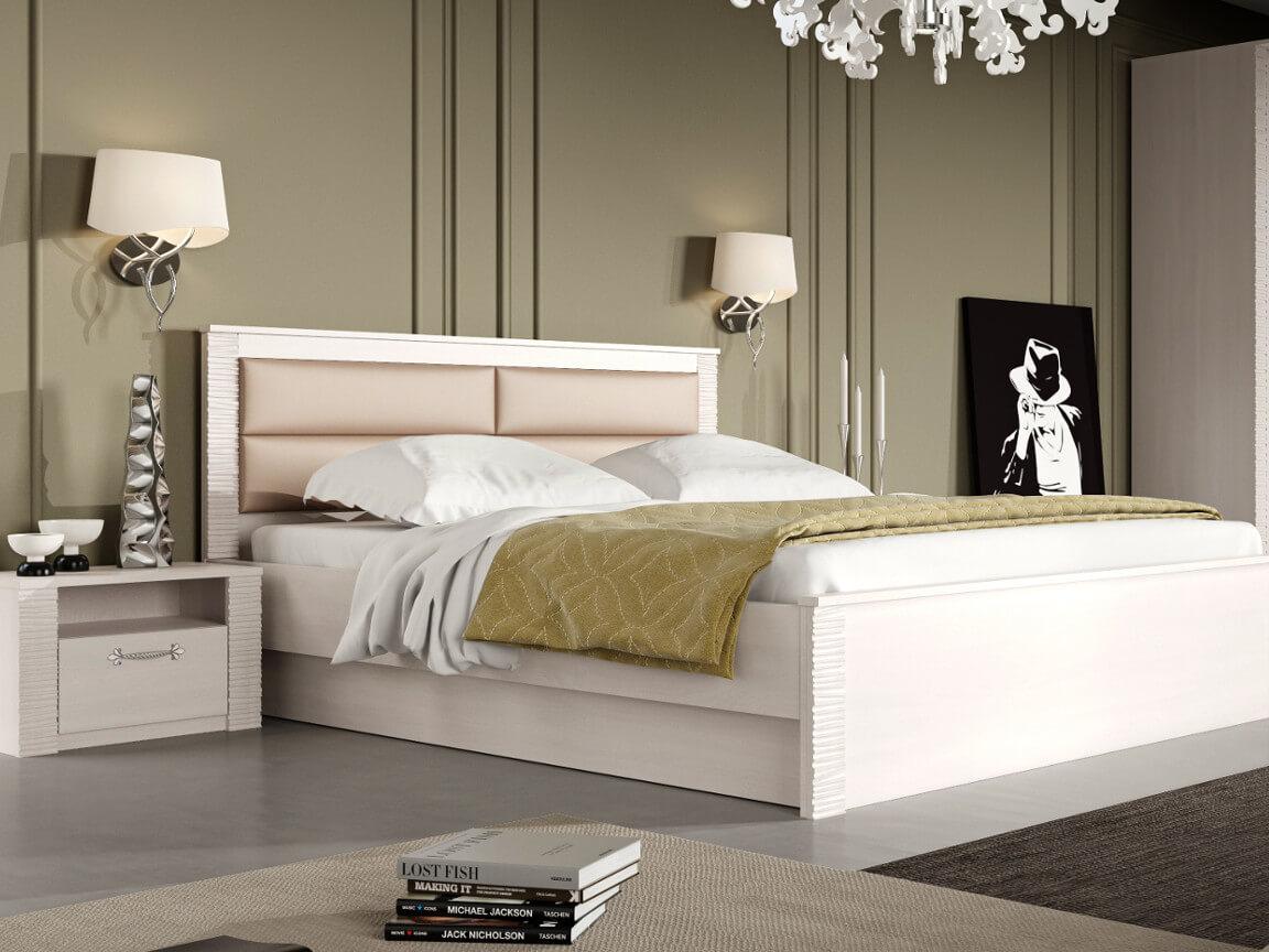 фото Спальня Элана Бодега белая