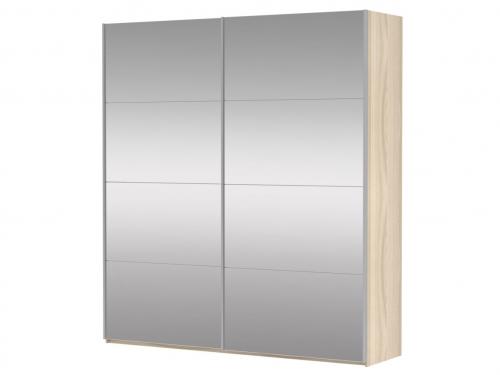 Шкаф-купе 2-х дверный Прайм Зеркало Сонома