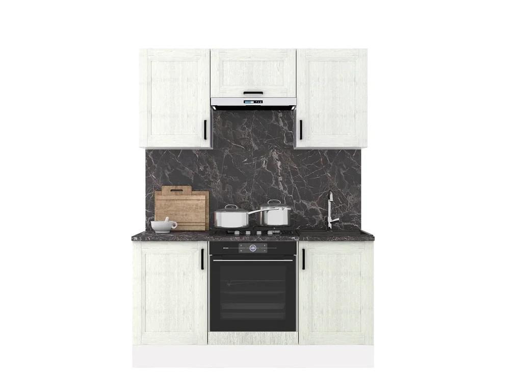 фото Кухонный гарнитур Винтаж 1600 сосна белая
