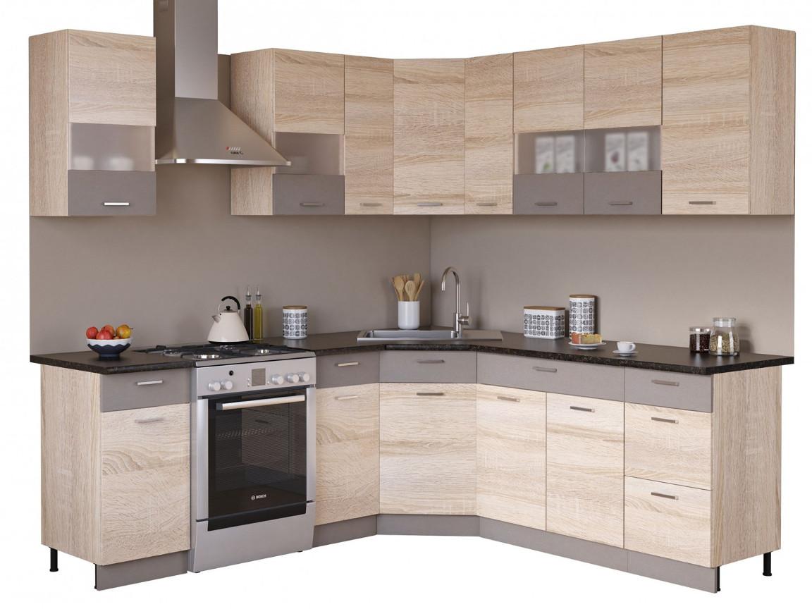 фото Угловая кухня Николь 1650х2050