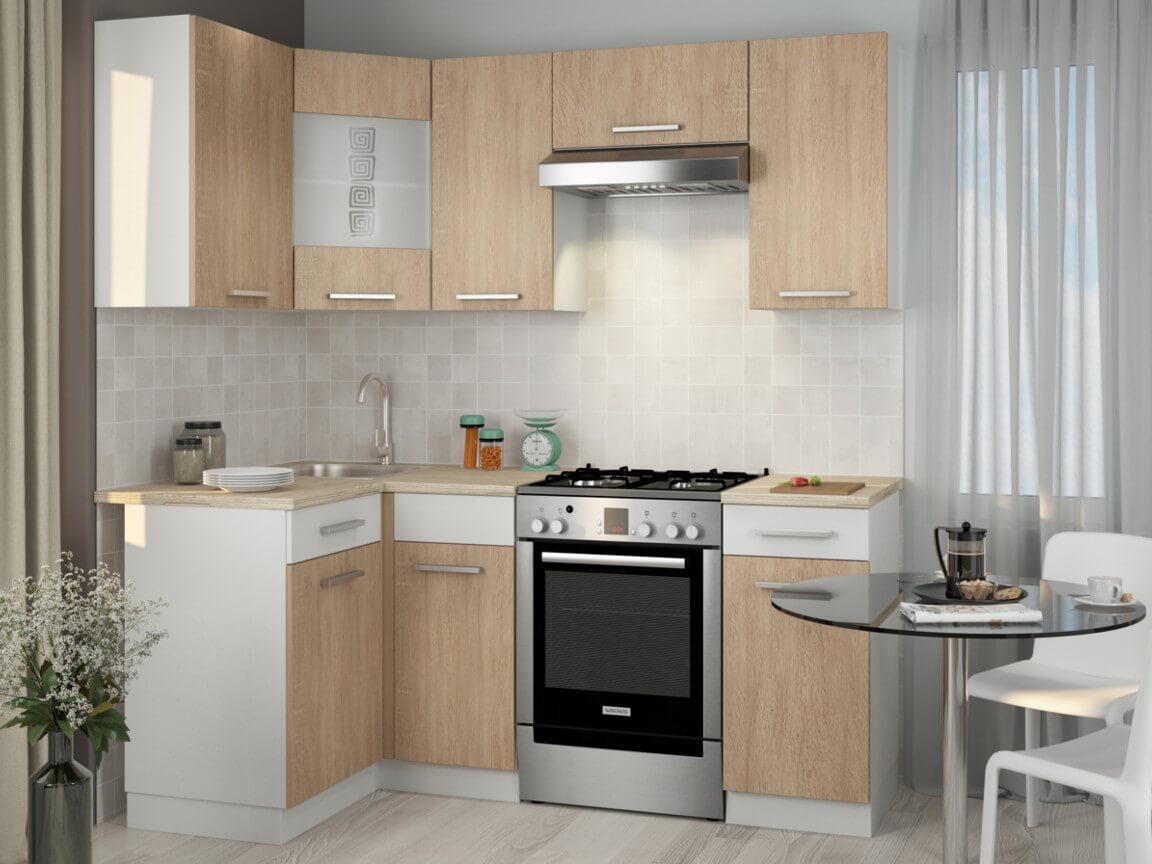 фото Кухонный гарнитур Алиса 12 угловой