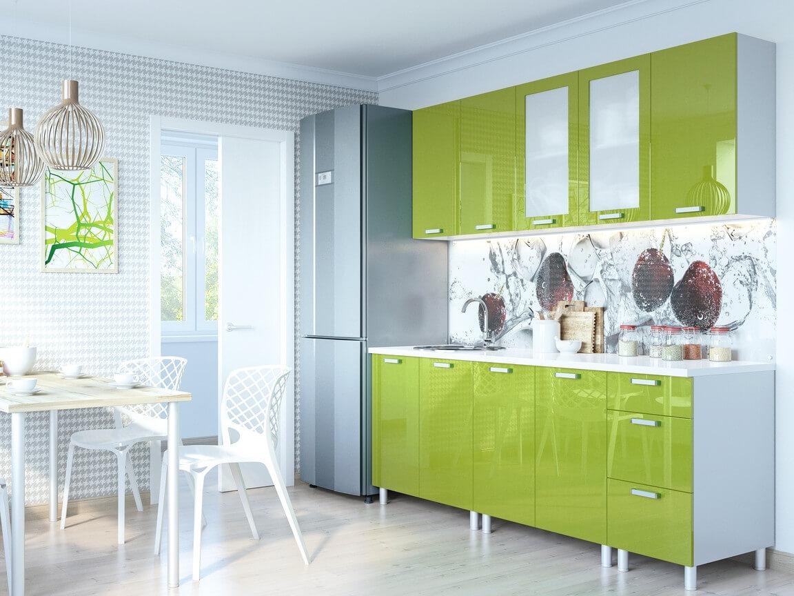 фото Кухня Модерн Олива