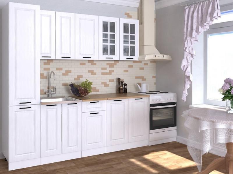 фото Кухонный гарнитур Белый вегас 2200