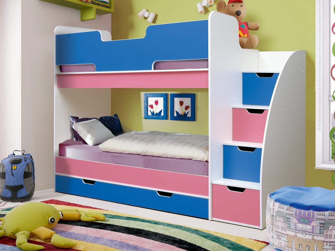 фото Кровать двухъярусная Юниор-9