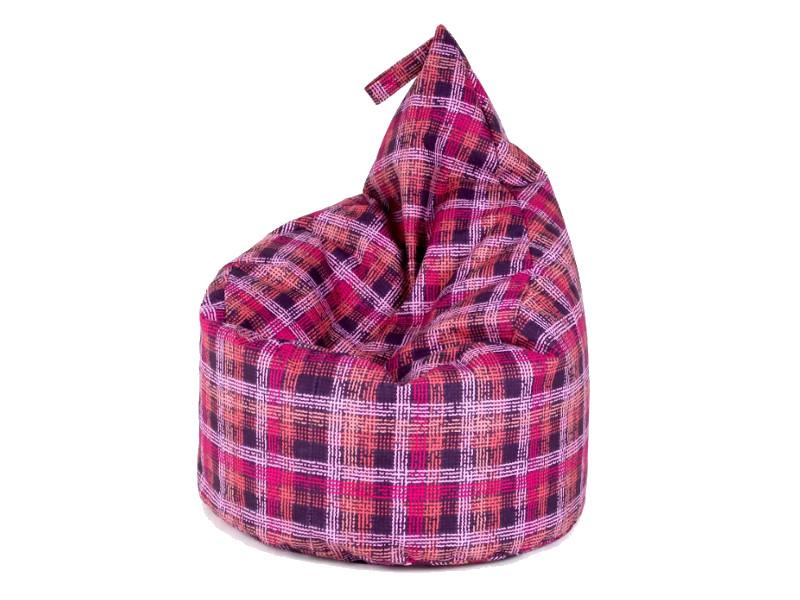 фото Кресло-мешок Капля категрия 5 dp quadro violet