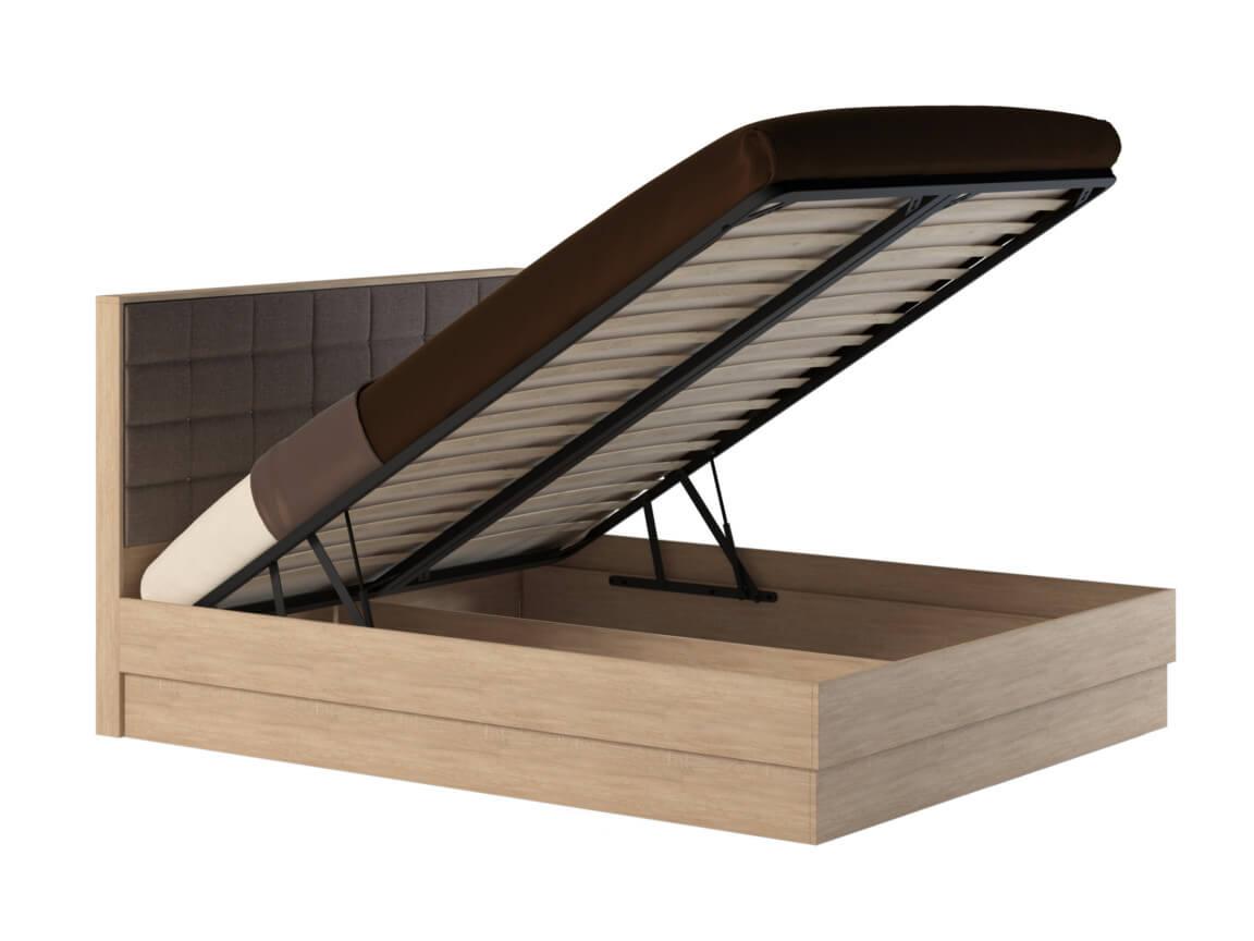 фото Кровать с подъемным механизмом Квадро