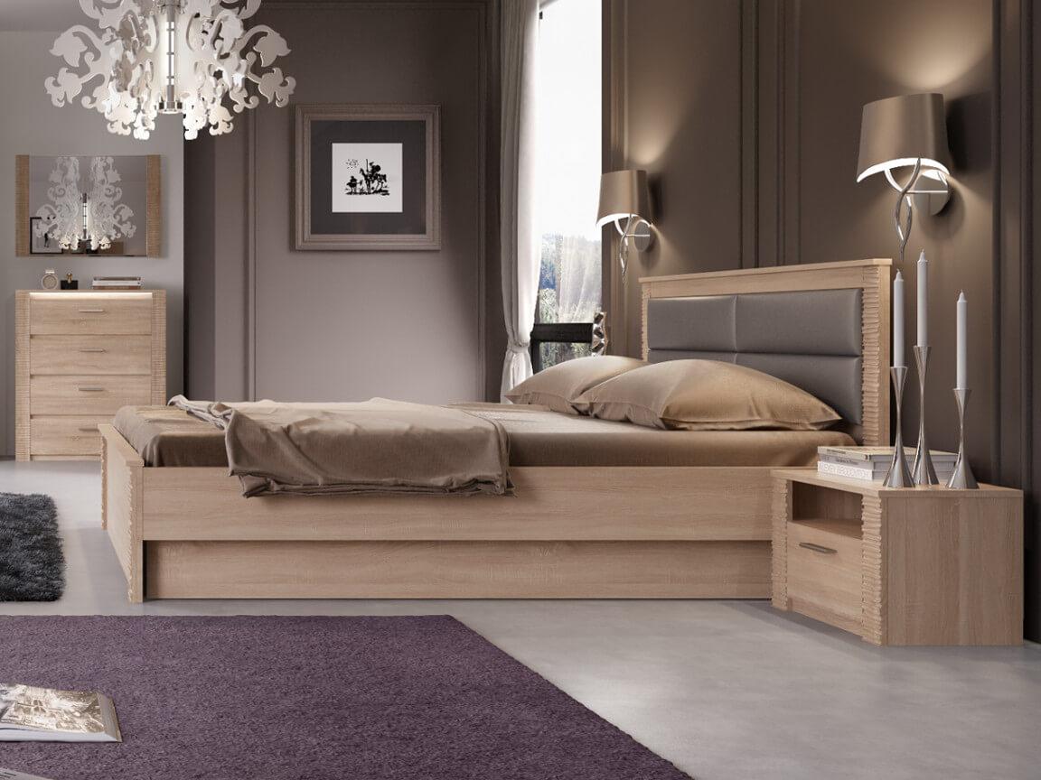 фото Спальня Элана Дуб Сонома