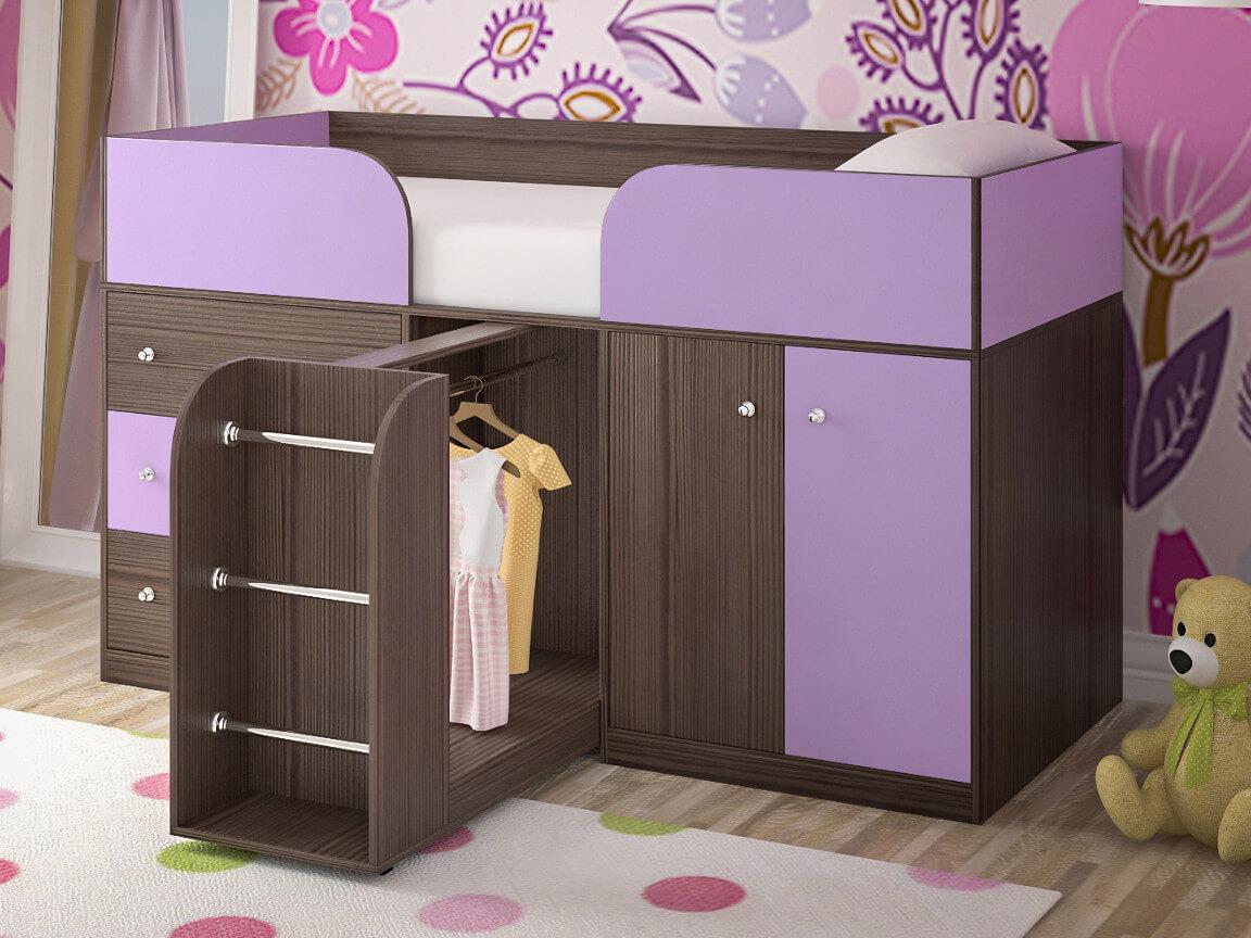 фото Кровать-чердак Малыш 4