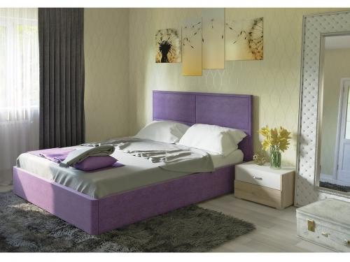 Интерьерная кровать Прага в ткани с ПМ