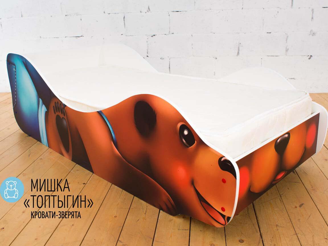 фото Детская кровать Мишка - Топтыгин