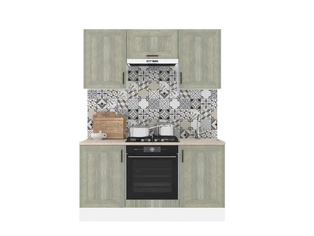 фото Кухонный гарнитур Винтаж 1600 дуб седой