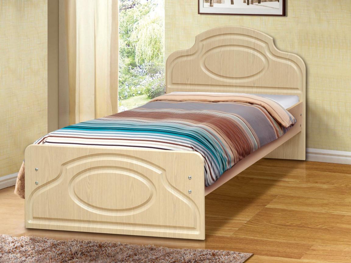 фото Кровать одинарная Венеция 2 матовая