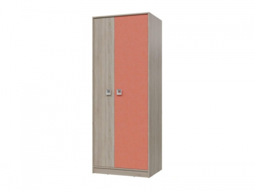 Шкаф для одежды Сити Коралл