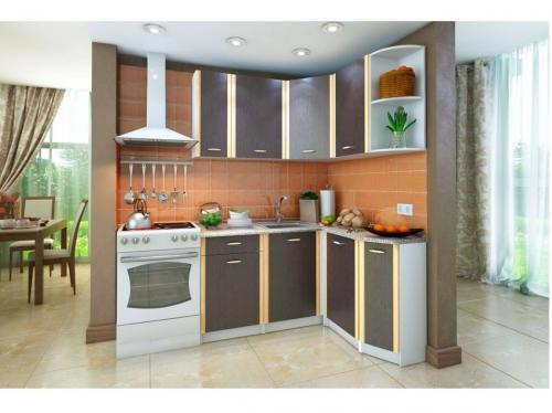 Кухонный угловой гарнитур Бланка венге