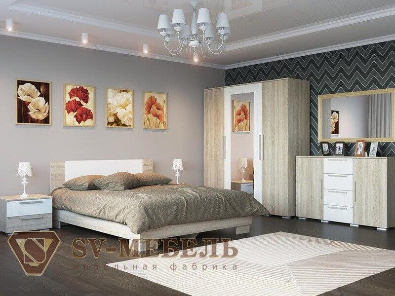 фото Спальня Лагуна-2 ЛДСП