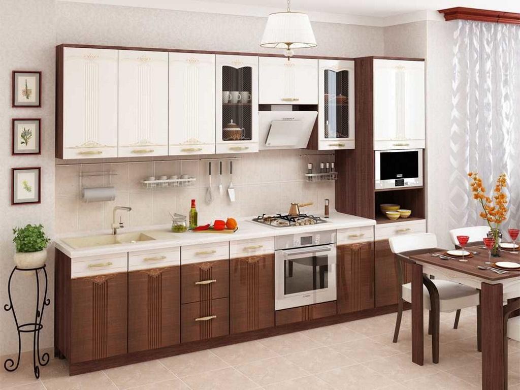 фото Модульная кухня Каролина с фрезеровкой