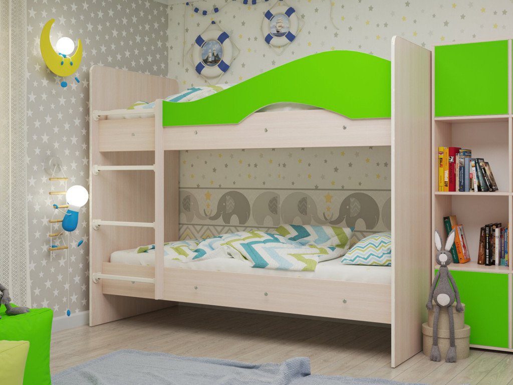 фото Кровать двухъярусная Мая