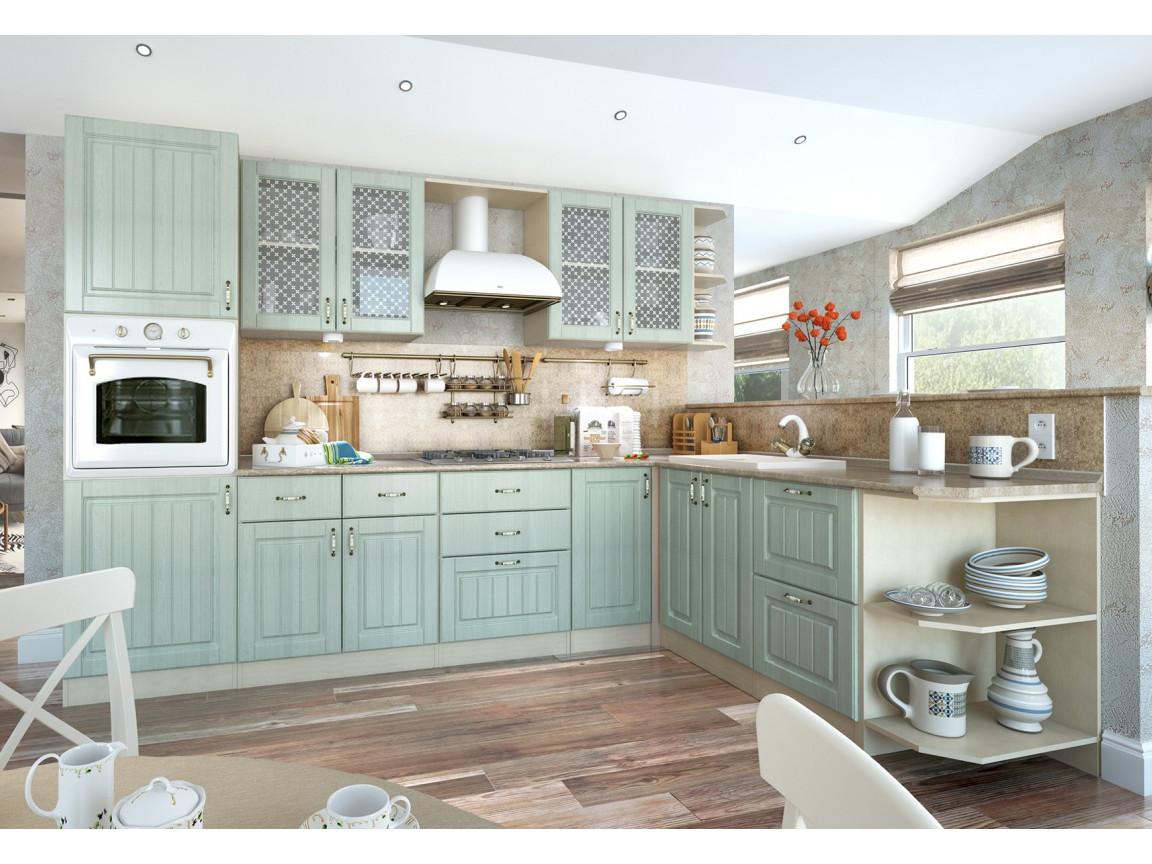 фото Кухня модульная Изабелла Ясень