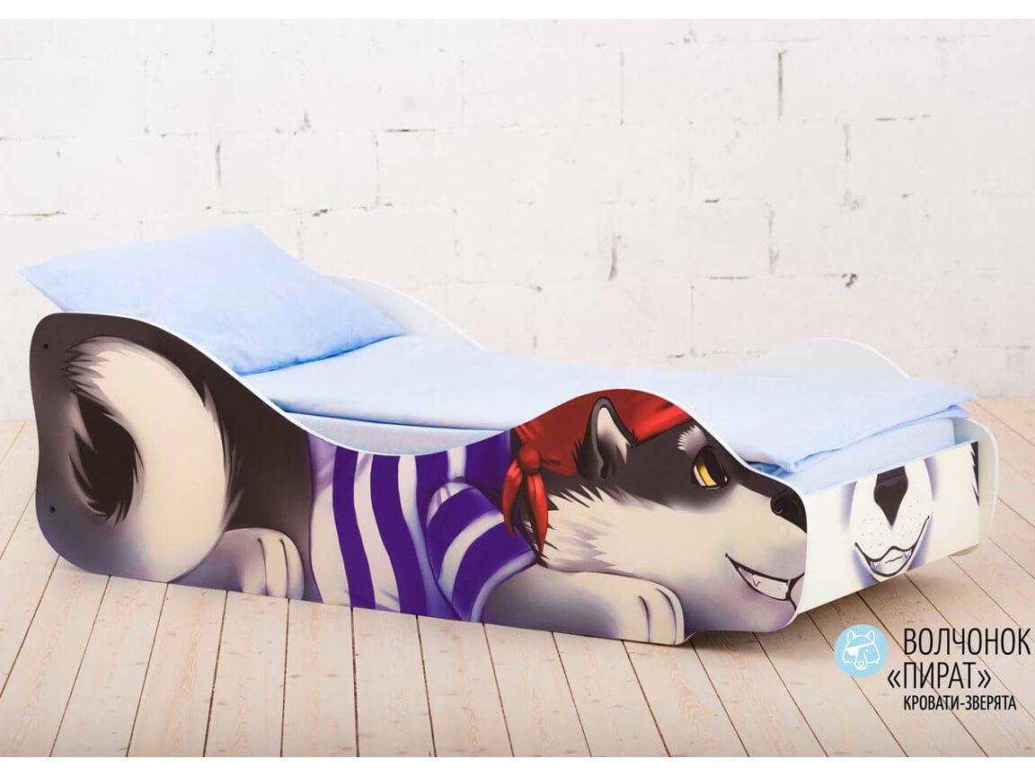 фото Детская кровать Волчёнок - Пират