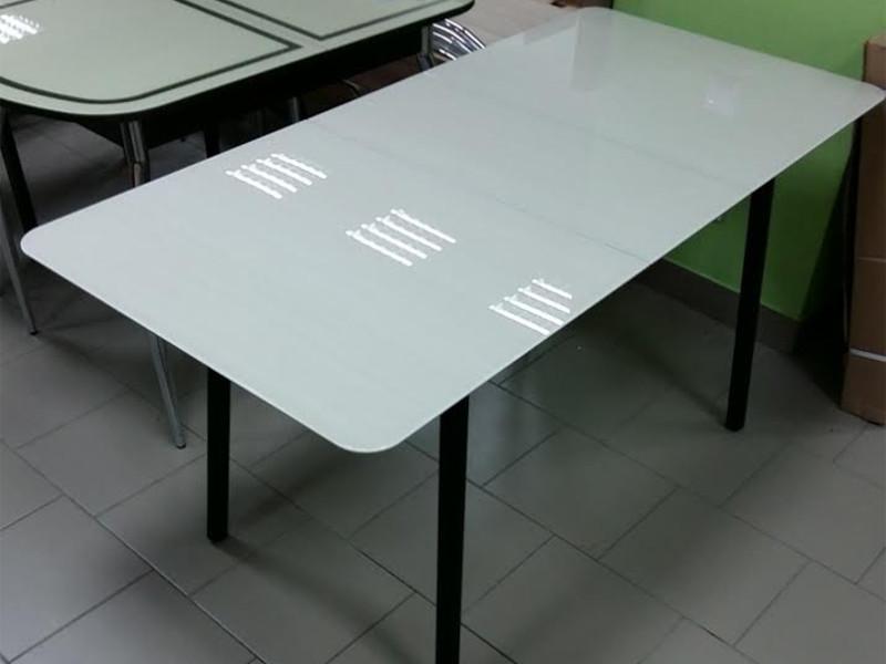 фото Стол стеклянный Хайп триплекс раздвижной