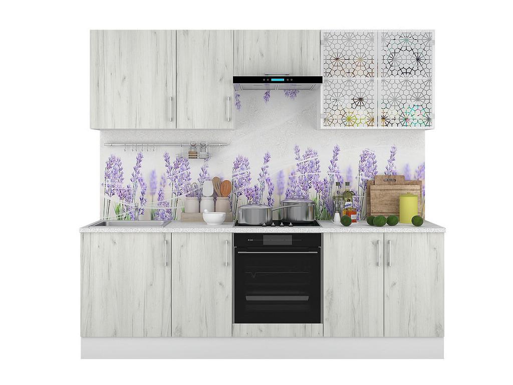 фото Кухонный гарнитур Европа Белый Крафт