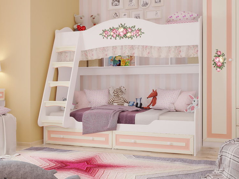 фото Кровать двухъярусная Алиса