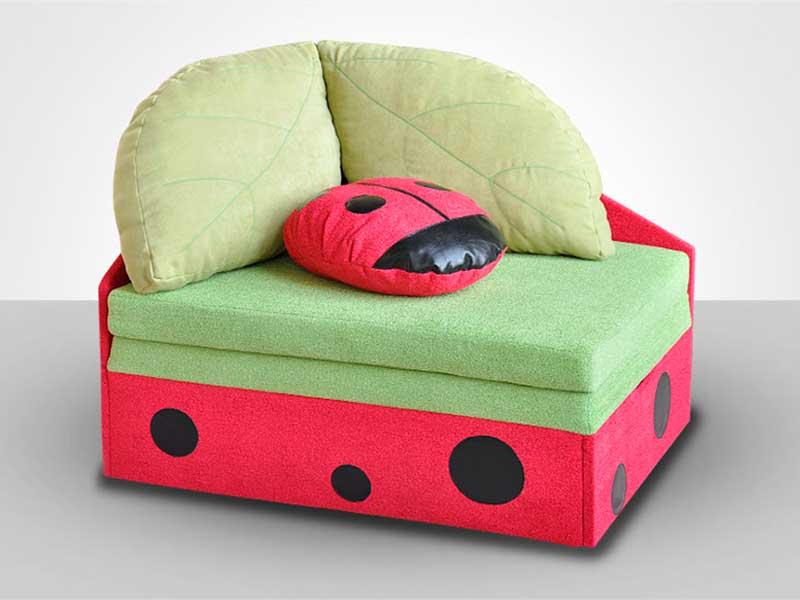 фото Детский диван Полянка