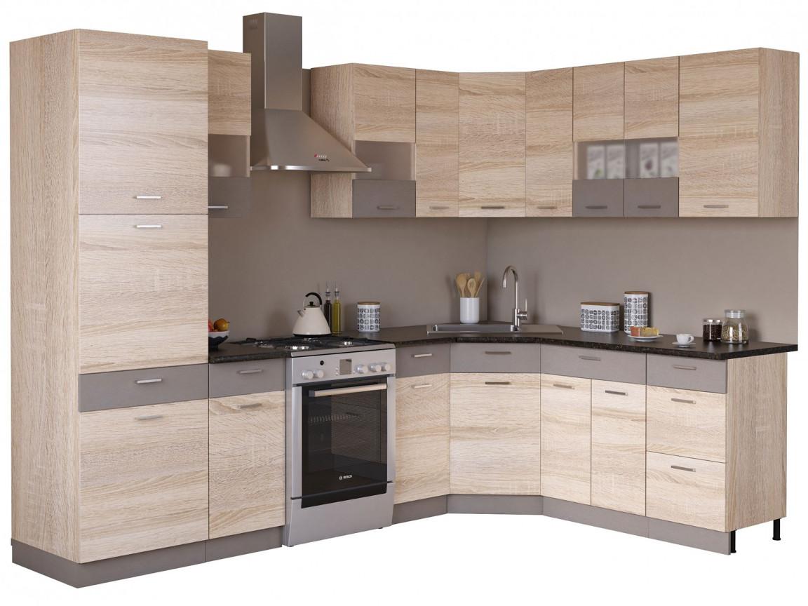 фото Угловая кухня Николь 2250х1850