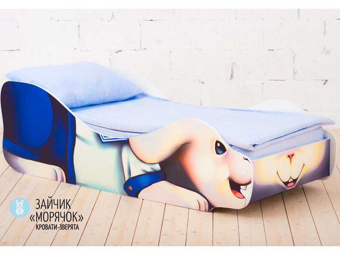фото Детская кровать Заяц - Морячок