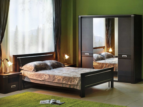 Спальня Магнолия Дуб венге