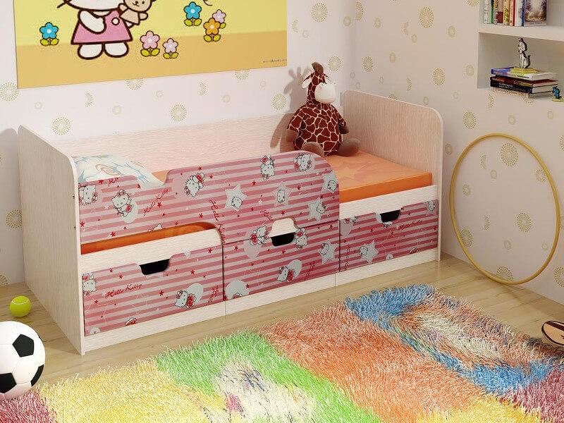 фото Детская кровать Минима Китти