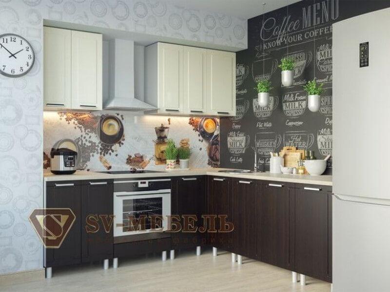 фото Кухня Геометрия Ваниль