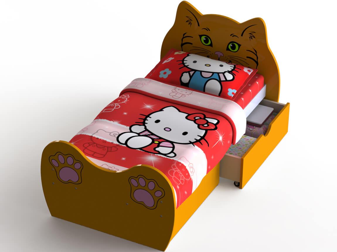 фото Кровать Кошечка