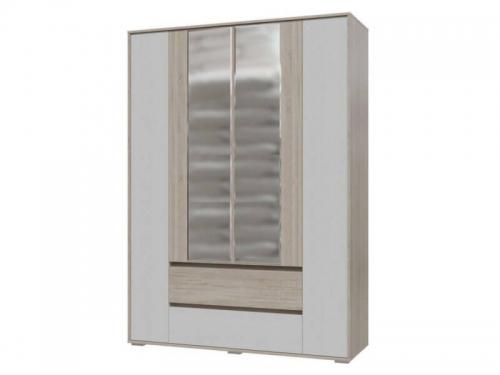 Шкаф 4-х дверный с ящиками Мальта Гранд