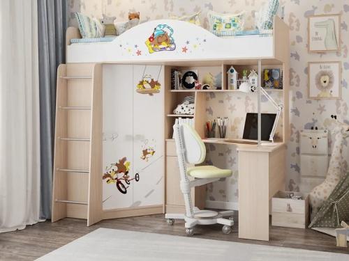 Детский комплекс кровать-чердак Непоседа