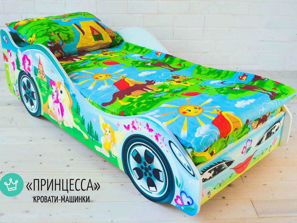 фото Кровать-машина Принцесса