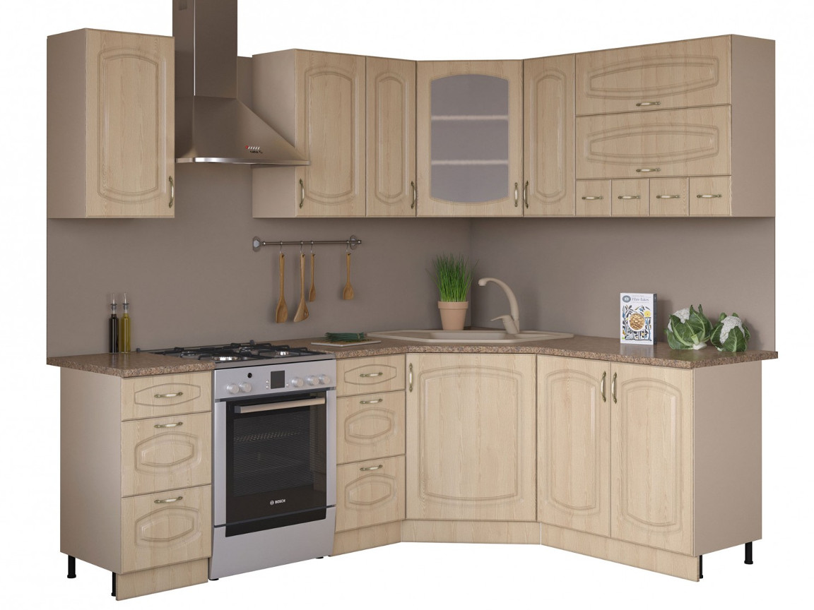 фото Угловая кухня Паула 1650х1650