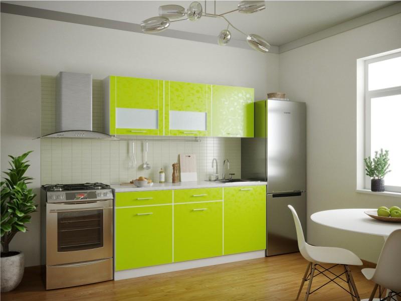 фото Кухня Венеция Лайм 1800