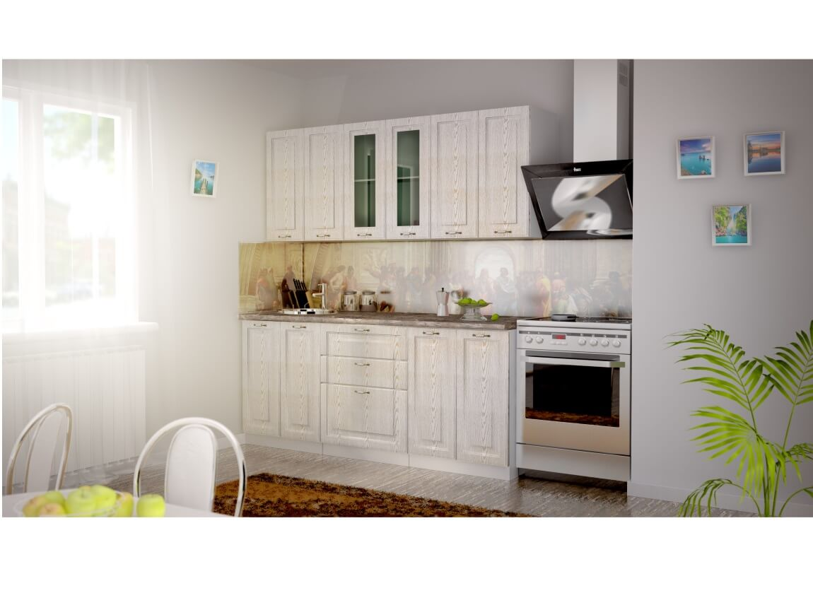 фото Кухня Патина золото
