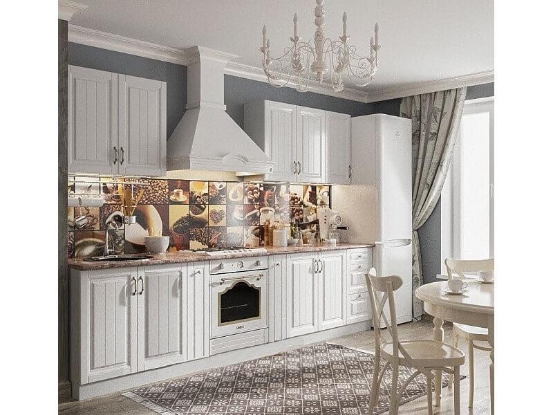 фото Кухня Прованс Белый СВ