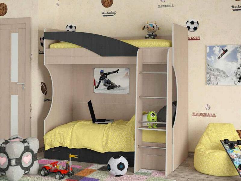 фото Кровать двухъярусная Бемби 4 СВ