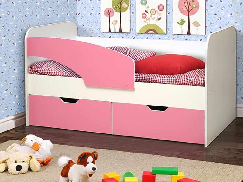 фото Кровать детская Дельфин лдсп