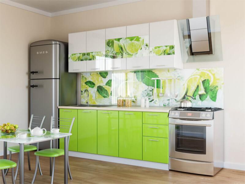 фото Кухня Лимон глянец